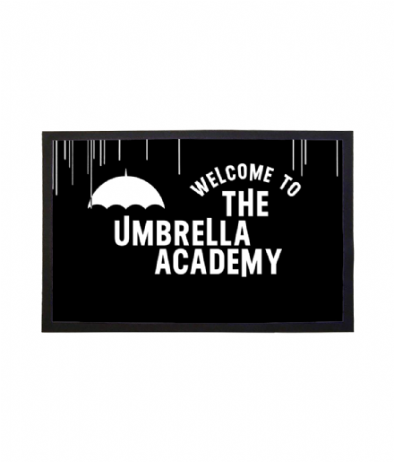 The Umbrella Academy Welcome Mat Doormat based on the Netflix Series